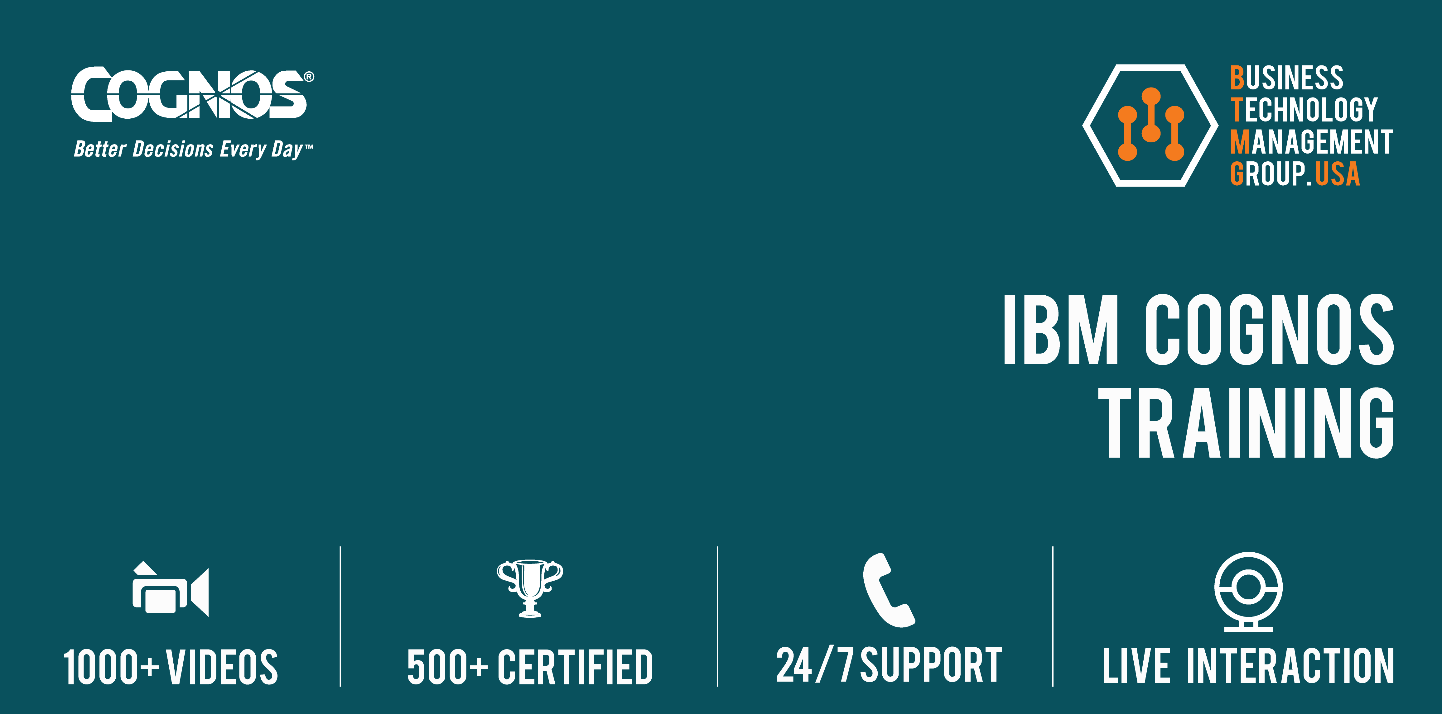 Ibm Cognos Course Offered By Btmg Usa With Job Placement Assistance