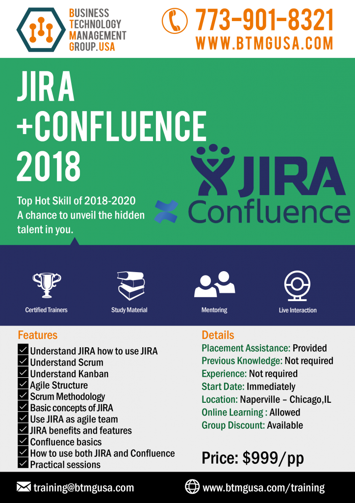 jira   confiuence training offered by btmg usa